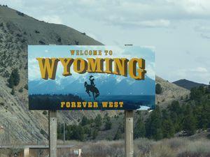 Bienvenue dans le Wyoming, une petite pause à Afton et ballade sur sa Main Street
