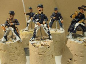 1861, année des préparatifs à la guerre civile américaine ou ACW -épisode 8 :( le 2nd  US cavalry ou 2nd dragoons)