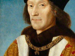Henri VII (par M.Sittow) et Elisabeth d'York au Nationnal Portrait Gallerie