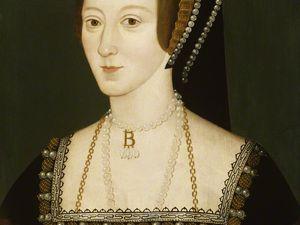1-Catherine d'Aragon 2-Anne Boleyn 4-Anne de Clèves (Louvre) 6-Catherine de Parr - NPG