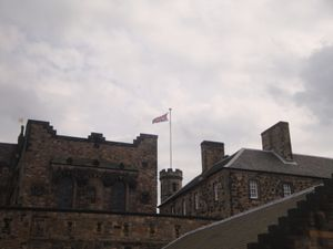 Edimbourg, cité médiévale : The Castle