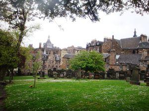 Greyfriars chruch & Cimetery : lieu le plus hanté d'Ecosse !