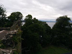 Dunstaffnage and Stalker castle