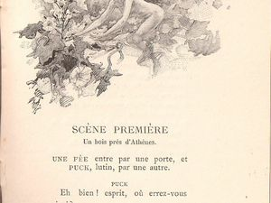 "William Shakespeare ""Le Songe d'une nuit d'été"", trad. de J.-H. Rosny (Dentu - 1894)"