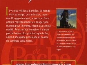 """J.-H. Rosny aîné """"La Guerre du Feu"""" (Le Livre de Poche Jeunesse - 2008)"""