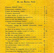 Feuillet volant publicitaire imprimé par les éditions Flammarion pour J.-H. Rosny aîné