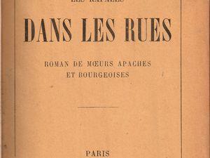 """J.-H. Rosny aîné """"Dans les rues"""" (Fasquelle - 1913)"""