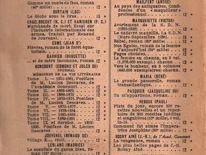 """J.-H. Rosny aîné """"Dans le calme et dans la tempête"""" (Flammarion - 1936)"""