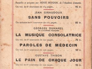 """J.-H. Rosny aîné """"Au temps du roi Léopold"""" (Editions du Rocher - 1946)"""