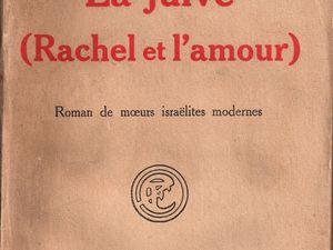 """J.-H. Rosny aîné """"La Juive (Rachel et l'amour)"""" (Flammarion - 1925)"""