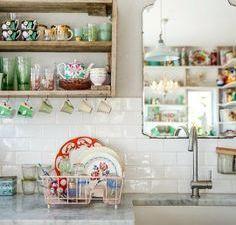 Pensez à mettre un miroir dans votre cuisine.