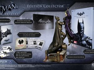 Batman : Arkham Origins dévoile son édition collector