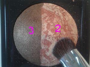 Tutoriel maquillage marron/doré