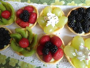 tartellte au fruit