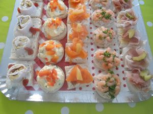 petits fours froid