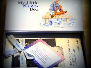 Test box cosmeto : la My Little Box de mai, la riviera box
