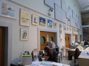 Quelques photos de mon exposition en cours ( jusqu'au 29 août) à AIX-LES-BAINS
