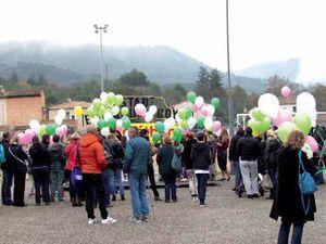 Lacher de ballon au téléthon 2015 - Loto 2015 au Cercle St-Pierre