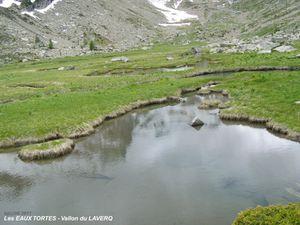 Sentier et Paysages des EAUX TORTES - Ubaye 2
