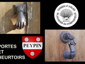 PEYPIN - PORTES et HEURTOIRS  ( Alpes de Haute Provence )