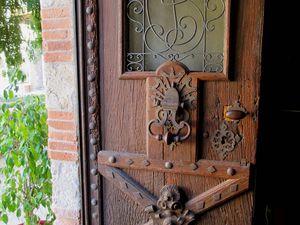 Portes de LAUZERTE sur le CHEMIN ( Lot ) - Via Podiensis du PUY à St Jacques de Compostelle