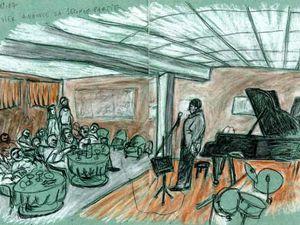 Une soirée de musique à l'Ecoutille-juin 2007 concert Olivier Calmel et janvier 2007 concert Bertrand Renaudin