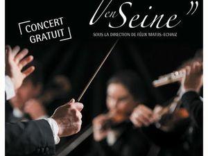 Concert de Musique en Seine à l'Hôtel de ville de Carrières-sous-Poissy