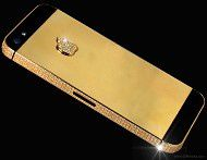iPhone 5 with gold and diamonds surfaces, costs $15.3 million