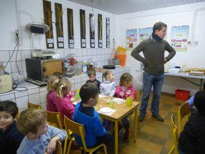 Les petits de 3ème maternelle à la ferme, au fil des saisons....