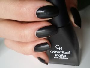 golden rose matte noir