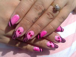 Nail art Napolitain