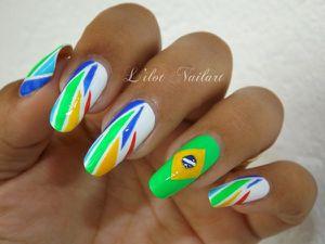 Nail art coupe du monde !!!