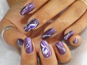 Nail art Papillon