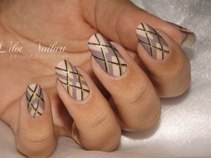 Nail art motifs Jacquard