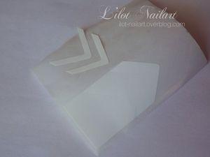 Nail art géometrique_noeud NéeJolie