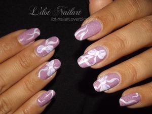 Nail art noeuds