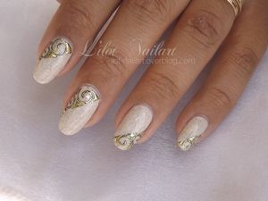 nail art spirale Gel Foil_Lm Cosmetic