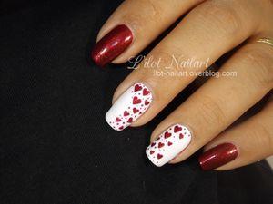Nail art St Valentin!!!