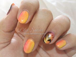 Nail art_Couché de soleil