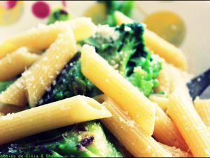 Penne aux brocolis et parmesan