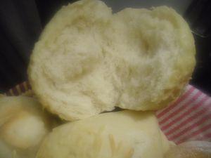 Petits pains de pomme de terre