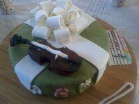 Gâteau d'anniversaire cadeau.