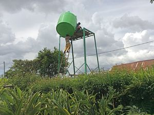 ça à de la gueule n'est ce pas ? vert  nature . . . . . les châteaux d'eau seront en pierre de taille ! ! !