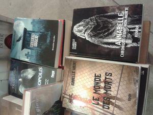 Mes livres à la librairie Hisler Even de Metz !