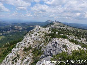 Pic de Bertagne, Sainte-Baume, Provence.