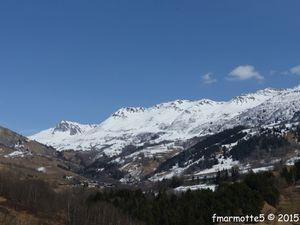 Refuge du Nant du Beurre 2080 mètres. Ski de rando.