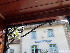 Voyage avec le petit train de l'Ardèche.