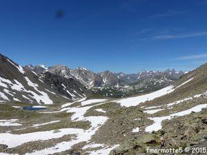 Rocher de la Grande Tempête 3002 mètres, Clarée.
