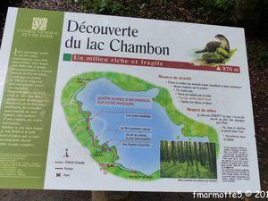 Murol et Lac Chambon, 3 courtes sorties.