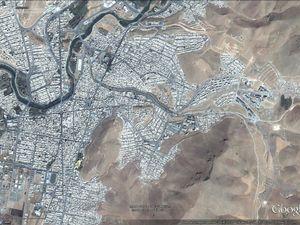 Imagerie satellitaire mise à disposition par Google earth :  1. Village kude du SE de la Turquie,   2. Erbil (Irak),   3. Mahabad (Iran),   4. Kobané (Syrie)